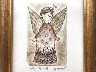 銅版画「星の種」の画像