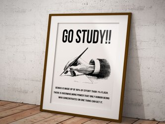 GO STUDY!! POSTERの画像
