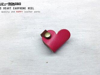 ハートのコードリール♡ONE'S HEART EARPHONE REEL【受注生産】の画像