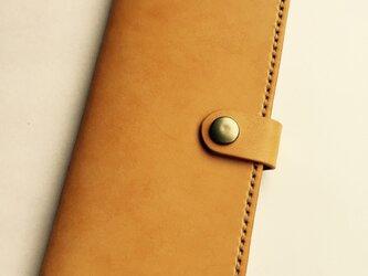 革のiphone8plus,7plus,6s plusケース と sweet(刻印無料)の画像