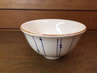 飯碗(しずく柄)の画像