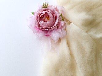 コサージュ&ヘアアクセサリー薔薇の画像