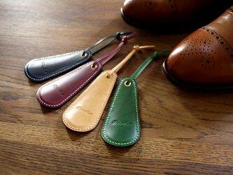 イタリアンレザーブッテーロの靴べら:PEGの画像