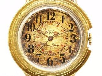 アンティークな腕時計 Retro アラビア数字の画像