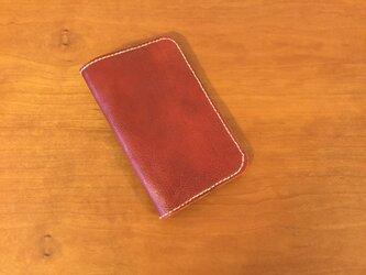 牛革製手帳カバーの画像