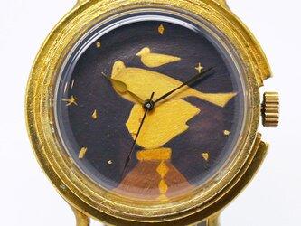 アート腕時計「鳥と少年」画家 宗像裕作 × A STORY TOKYOの画像