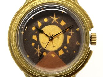 アート腕時計「宙の子」画家 宗像裕作 × A STORY TOKYOの画像