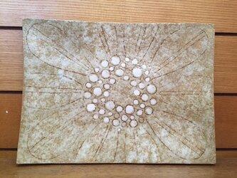 四角皿(花柄)の画像