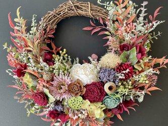 Autumn wreath IIIの画像