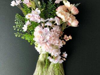 "Bright green Tassel wreath ""Cherry blossom""の画像"