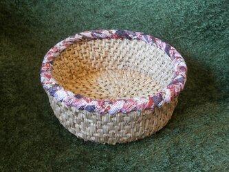 和布と藁を編んだ自然素材の「猫鍋」①…猫ハウス・猫つぐら・猫ベッドの画像