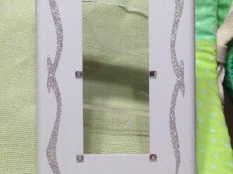 スイッチカバー LUSTER  三穴の画像