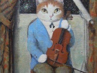 バイオリンのレッスンの画像