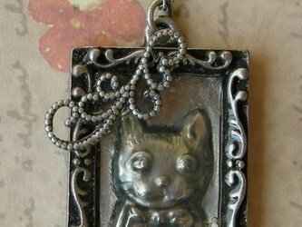 ネックレス 猫の画像