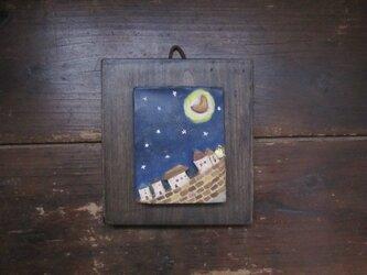 月と街 かべかざの画像
