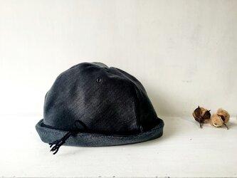 30%off!! TYROLEAN HELMA HAT | ASHGREEN 柄織りコットンビロード チロリアンハットの画像