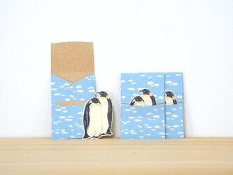 ぽち袋 3個X2セット ぽちペンギンの画像