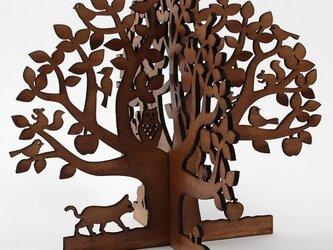 りんごの木(木製ツリーオブジェ)の画像