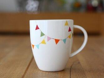 フラッグガーランド マグカップの画像