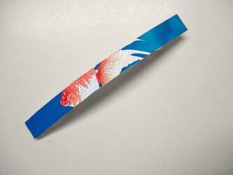 アートバレッタ 金魚【送料無料】の画像