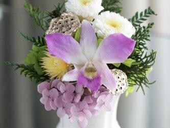 仏花 お供え花(イエロー)の画像