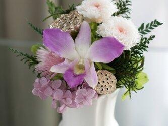 仏花 お供え花(ピンク)の画像