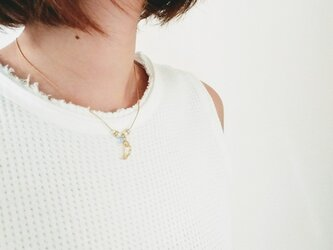 angel wing necklaceの画像