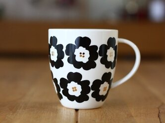 Hanaco(黒)/ マグカップの画像