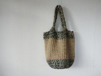 Big shoulder bag(green)の画像