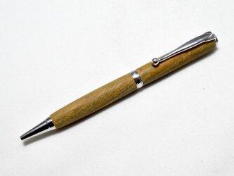 [再出品]【リグナムバイタ】手作り木製ボールペン スリムライン CROSS替芯の画像