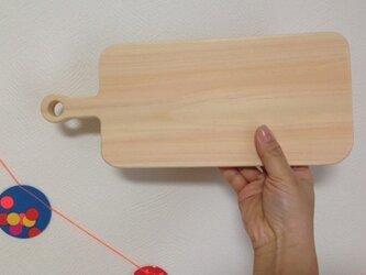 幅の調整可能♪ 紀州材檜 まな板③ 無垢 受注生産の画像