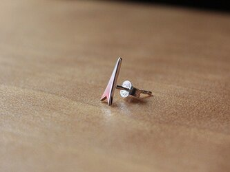 針突(ハジチ)切抜耳飾片耳トゥギャー rpc-52の画像
