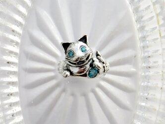 人を招いちゃうチュシャ猫のリングの画像
