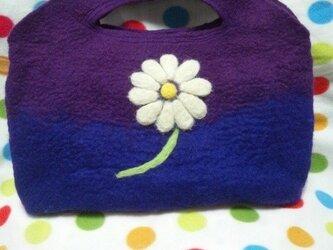 羊毛 デイジーのバッグ♪の画像