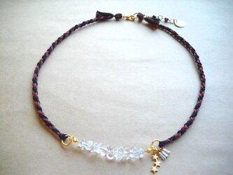 desolate necklace crystalの画像
