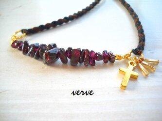 desolate necklace garnetの画像