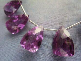 *♥*Alexandrite Quartz Faceted Beads*♥* 1 pieceの画像