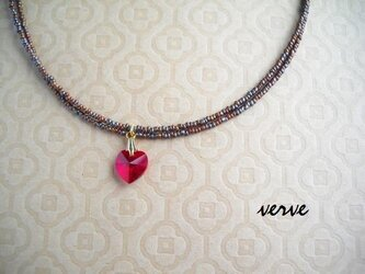 rosso cuore necklaceの画像