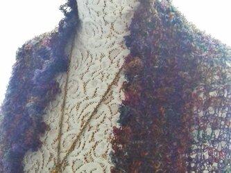 ウールのマーガレット(彩)の画像