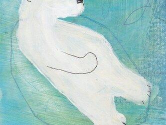 シロクマ(額装)の画像