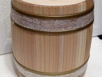 木樽のケース(中)の画像
