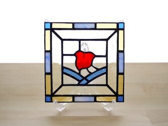 ステンドグラスパネル 千鳥 Mサイズの画像