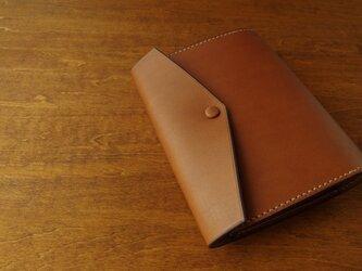 【受注生産】HOBONICHI TECHO cover(cousin size)/brownの画像