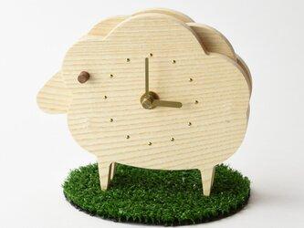 [受注生産]ひつじの時計の画像