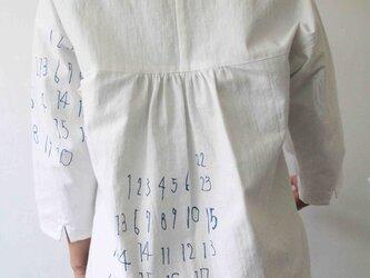 背中キュートな数字プリントのプルオーバー No.13の画像