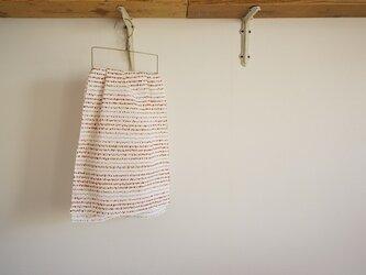 手ぬぐい【 soil 】赤銅色×芥子の画像