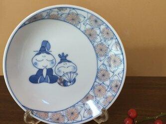 小皿(お雛様)の画像