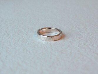 桃色銀槌目指輪 rr-71の画像