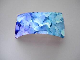 アートバレッタ(四角) 紫陽花【送料無料】の画像