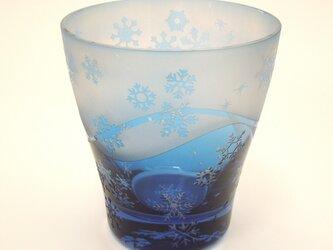 雪舞うグラス【訳あり品】の画像